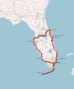 Florida - MC Rejser