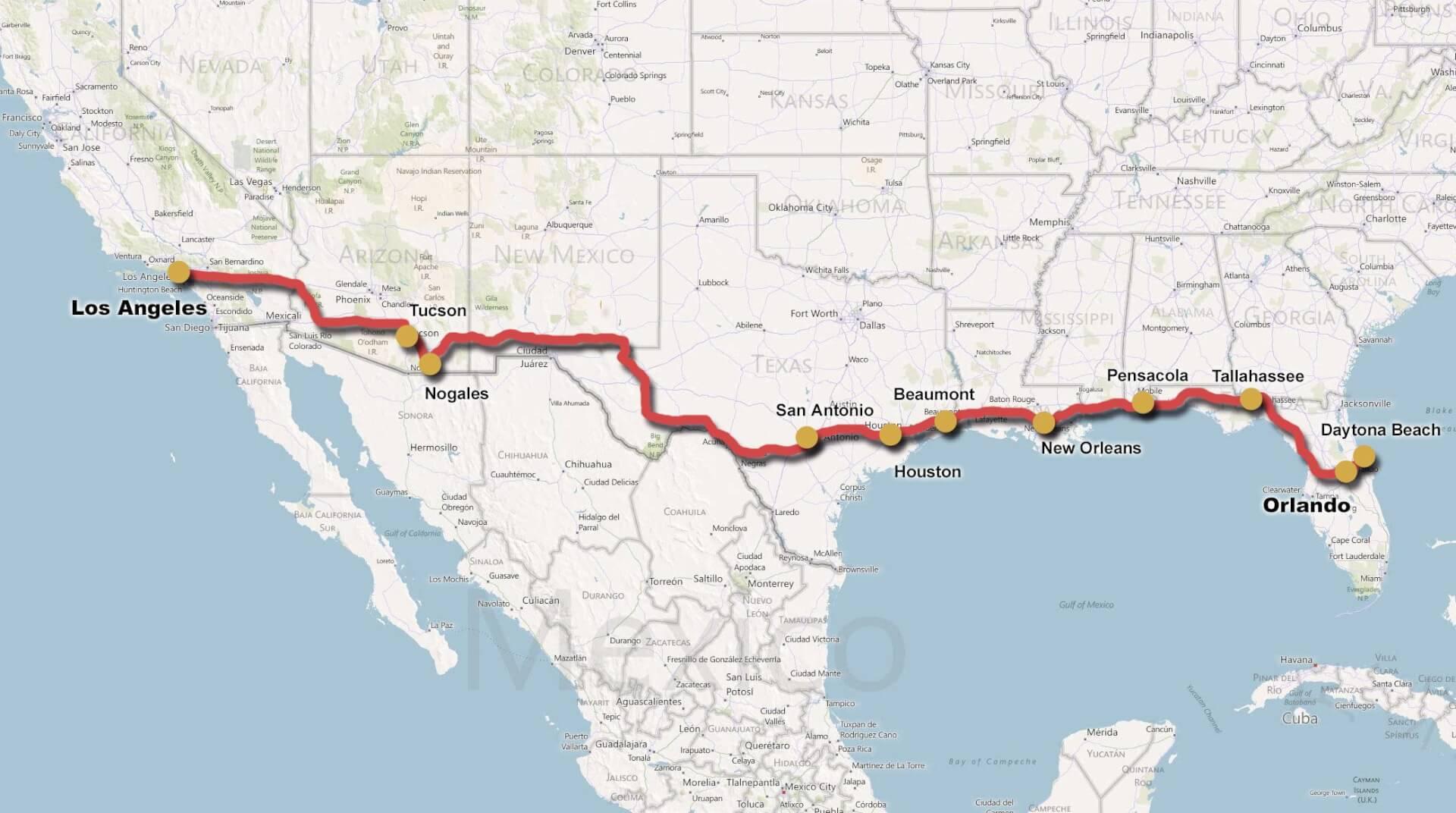Mc rejser kyst til kyst mc rejser for East coast road trip from new york